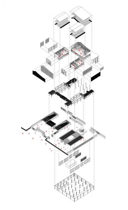 会所结构分析图