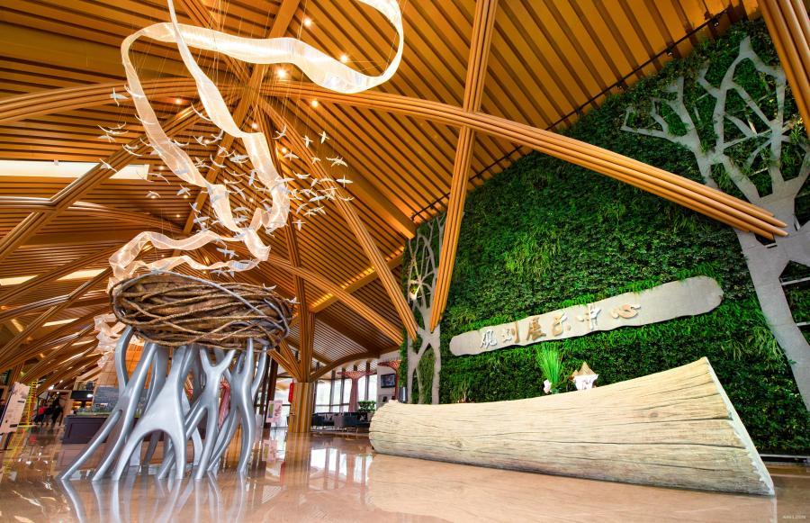 广西钦州海景规划展示中心内景接待区