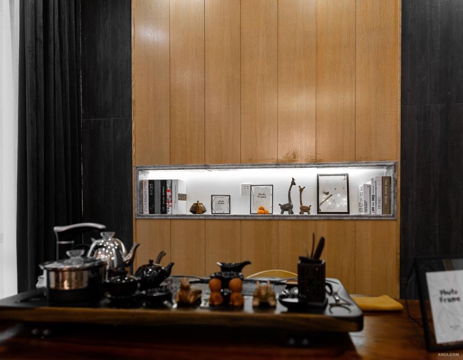 一楼客厅茶区