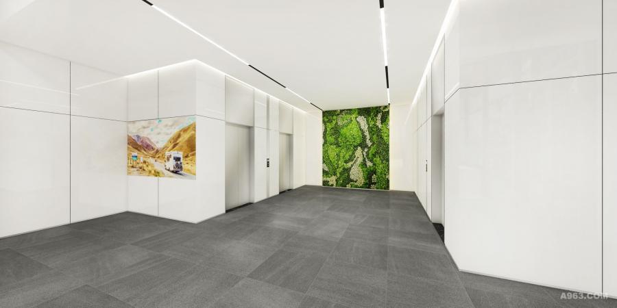 在设计伊始,就强调空间的多元性和可变性。本案的设计意在另辟蹊径,在营造现代建筑美学空间的同时,创建出独具特色的办公空间环境。