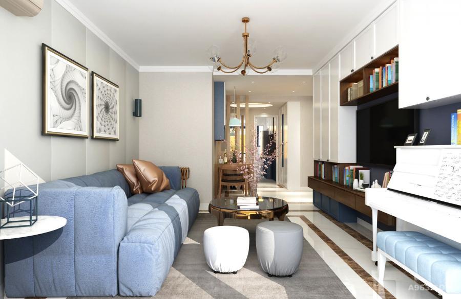 明快的硬装色调和线条搭配温馨有质感的软装,享受舒适居家生活。