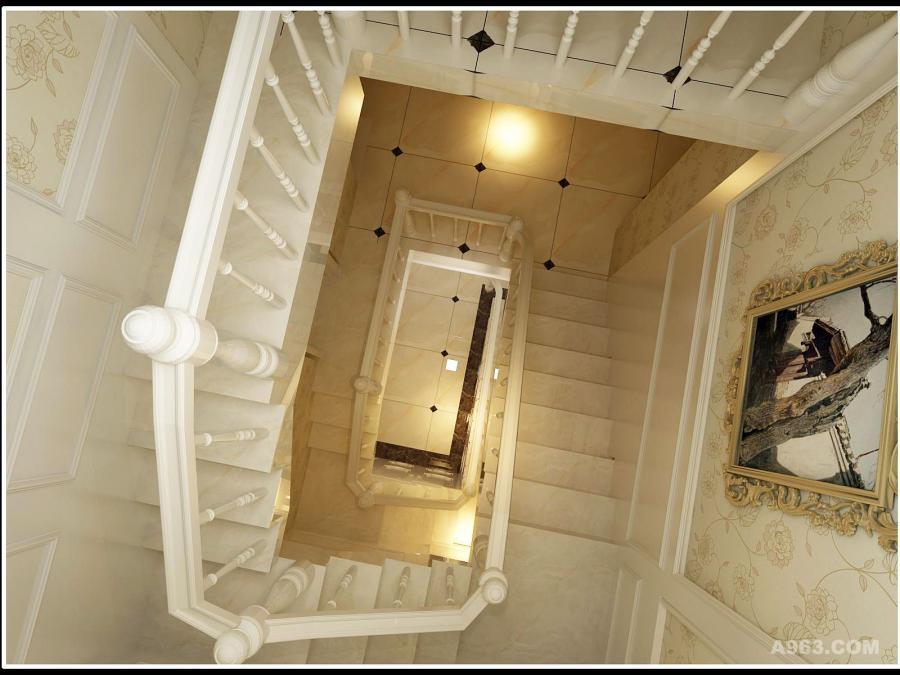 三层楼梯的设计