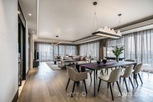 【鸿艺源新作】新天鹅堡私宅设计|绝美轻奢新中式:一杯清茶,共待流年