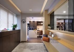 可艺术亦可炊烟|维塔设计|深圳锦绣御园|187平方私宅设计项目|台式风格!!