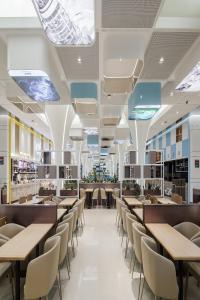 华为深圳D4员工餐厅设计