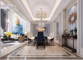 山水案例:太和国建红郡270别墅欧式风格设计
