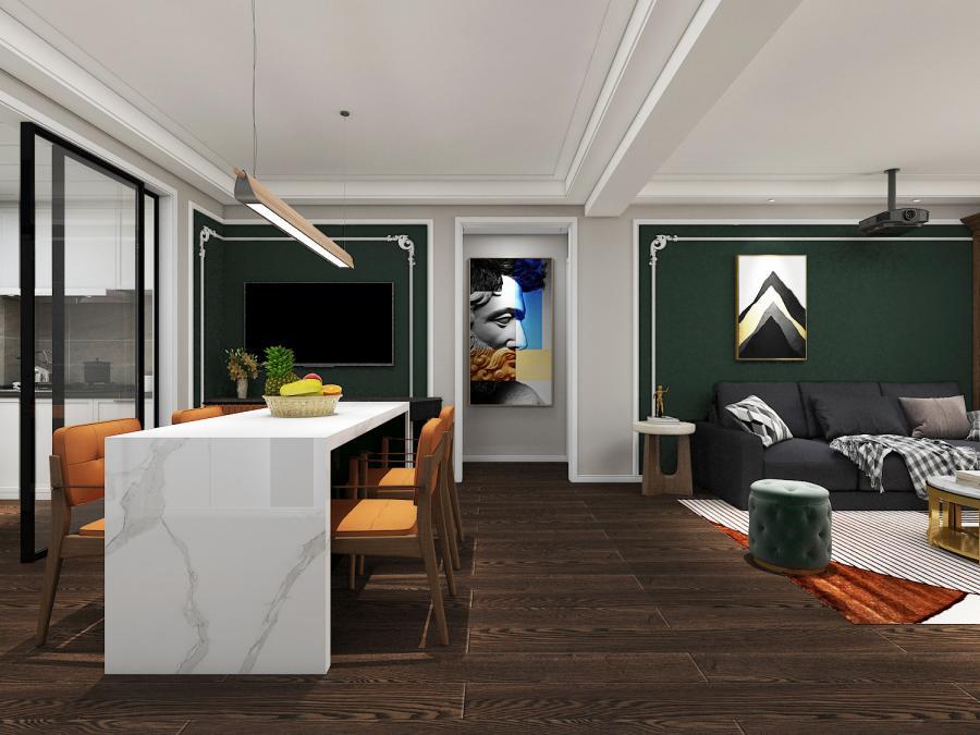 客厅餐厅设计