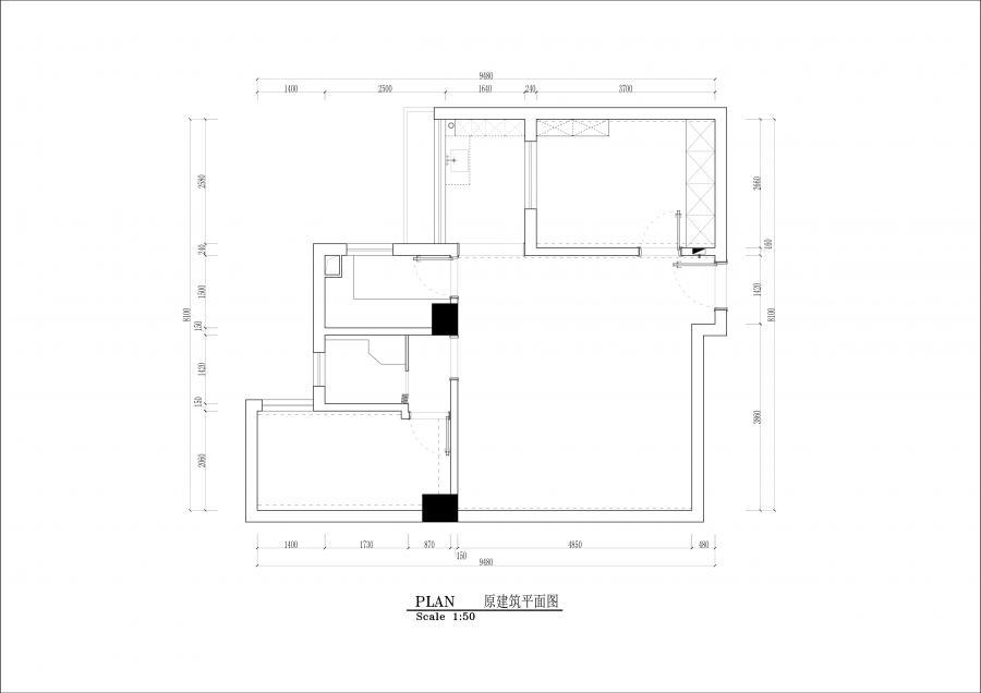 原建筑平面图