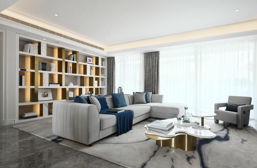 客厅与书房
