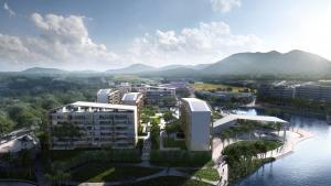 海南中信国安七星海岸规划与建筑设计