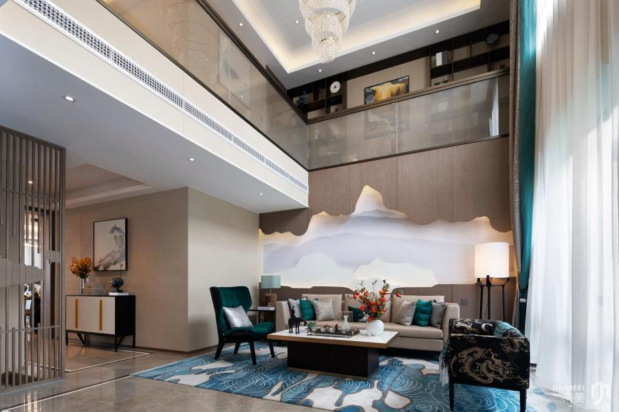 郑州远洋地产别墅-客厅2