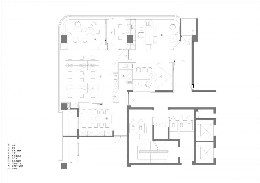 LDY DISIGN是一个多元功能的工作空间概念设计,开放、灵活的空间侧重激发更多想象的可能,在168㎡的有限空间里叙述着无限可能的故事。