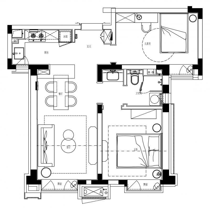 项目名称:天津天安象屿筑湖花园二期样板间80户型 室内软装:DESIO-上海大铄装饰设计工程有限公司 项目面积:80㎡ 项目地点:天津象屿智慧城 完成时间:2020年3月31日 后期摄影:ingallery