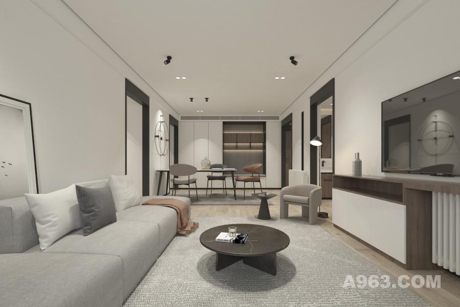 项目地址:中国·江苏  项目面积:150 ㎡ 设计风格:现代极简 设计单位:迪尚·琸岩设计 软装单位:优米软装 施工单位:迪尚优家