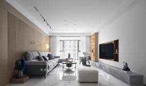 筑道设计丨保利香槟 149平 现代简约风格