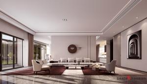 DANDI HOME |700㎡意式轻奢别墅,流淌的艺术创造力